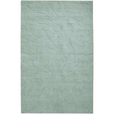 Candice Olson Light Blue 8 ft. x 11 ft. Area Rug