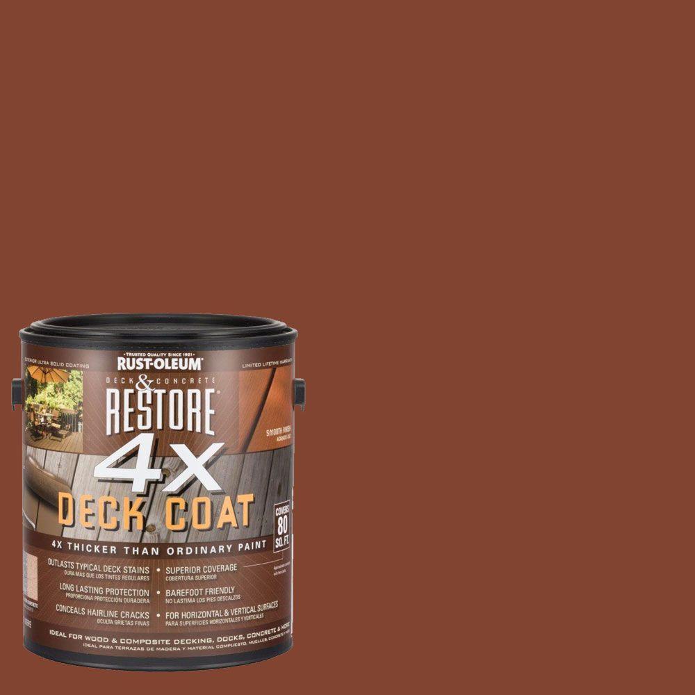 Rust-Oleum Restore 1 gal. 4X Redwood Deck Coat