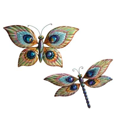 Peuter Decorative Butterfly and Dragonfly Wall Art