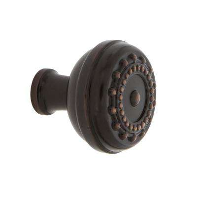 Meadows 1-3/8 in. Timeless Bronze Brass Cabinet Knob