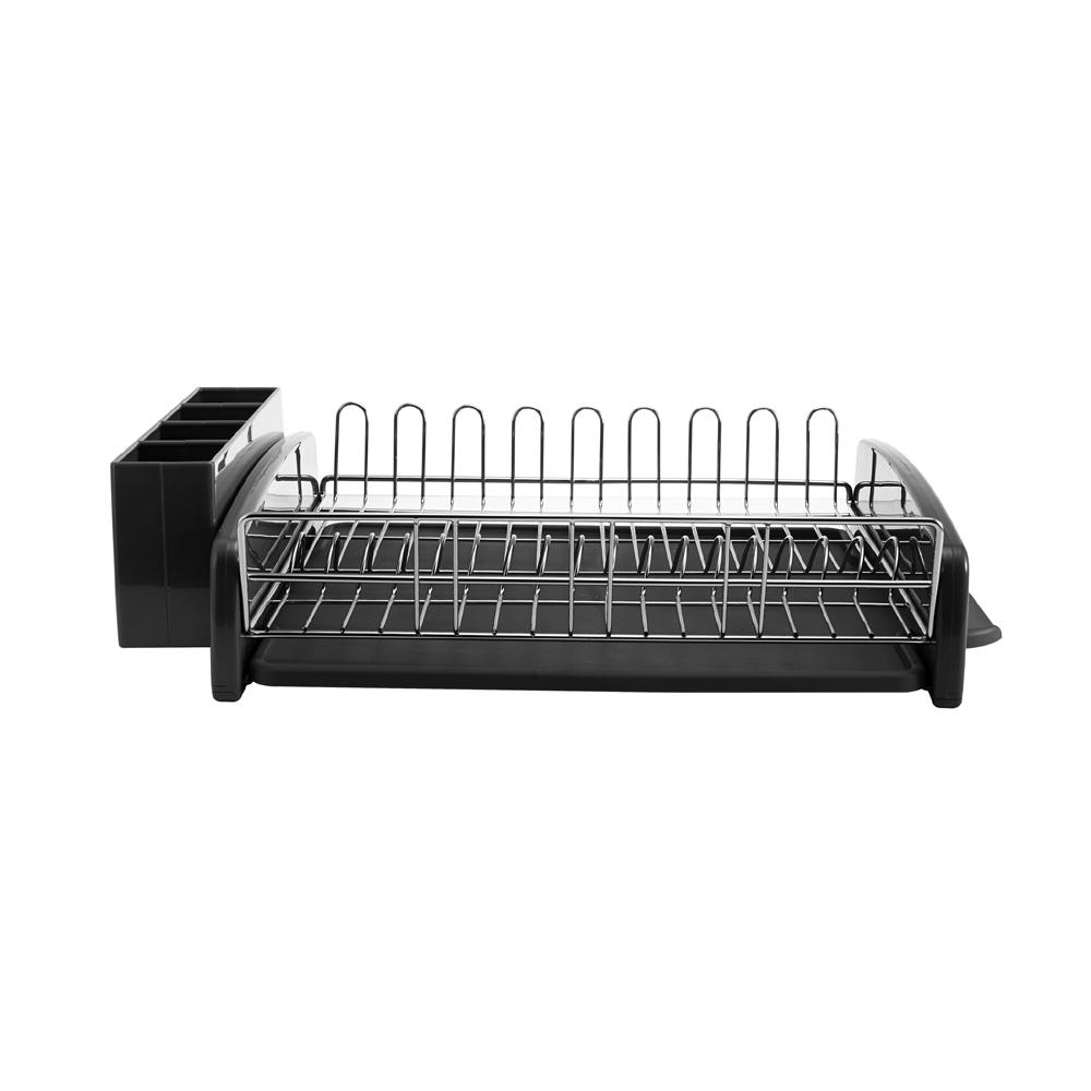 3-Piece Dish Rack Black