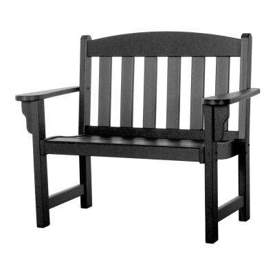 Bench with Back in Black