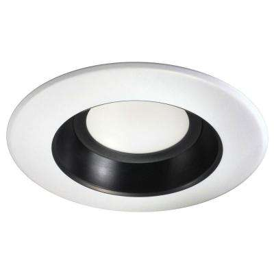 5 in. and 6 in. Black Recessed LED Downlight Kit 3000K
