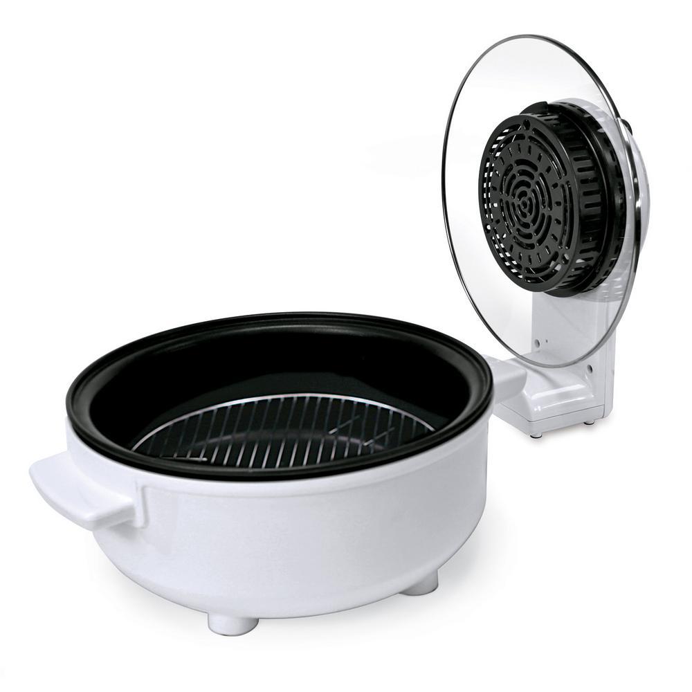 Nesco Jet Stream 1200 W White Countertop Oven with Broiler