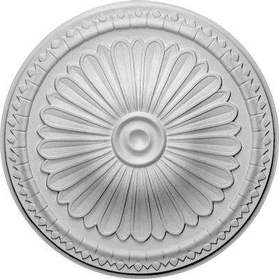 15 in. OD x 1-3/4 in. P (Fits Canopies up to 3 in.) Alexa Ceiling Medallion
