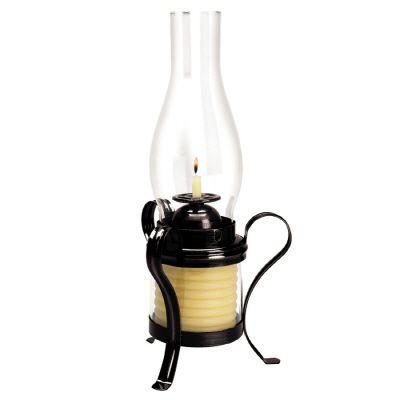 40-Hour Coil Candle with Hurricane Lamp