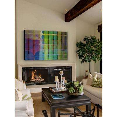 """40 in. H x 60 in. W """"Degeneration"""" by Marmont Hill Printed Brushed Aluminum Wall Art"""