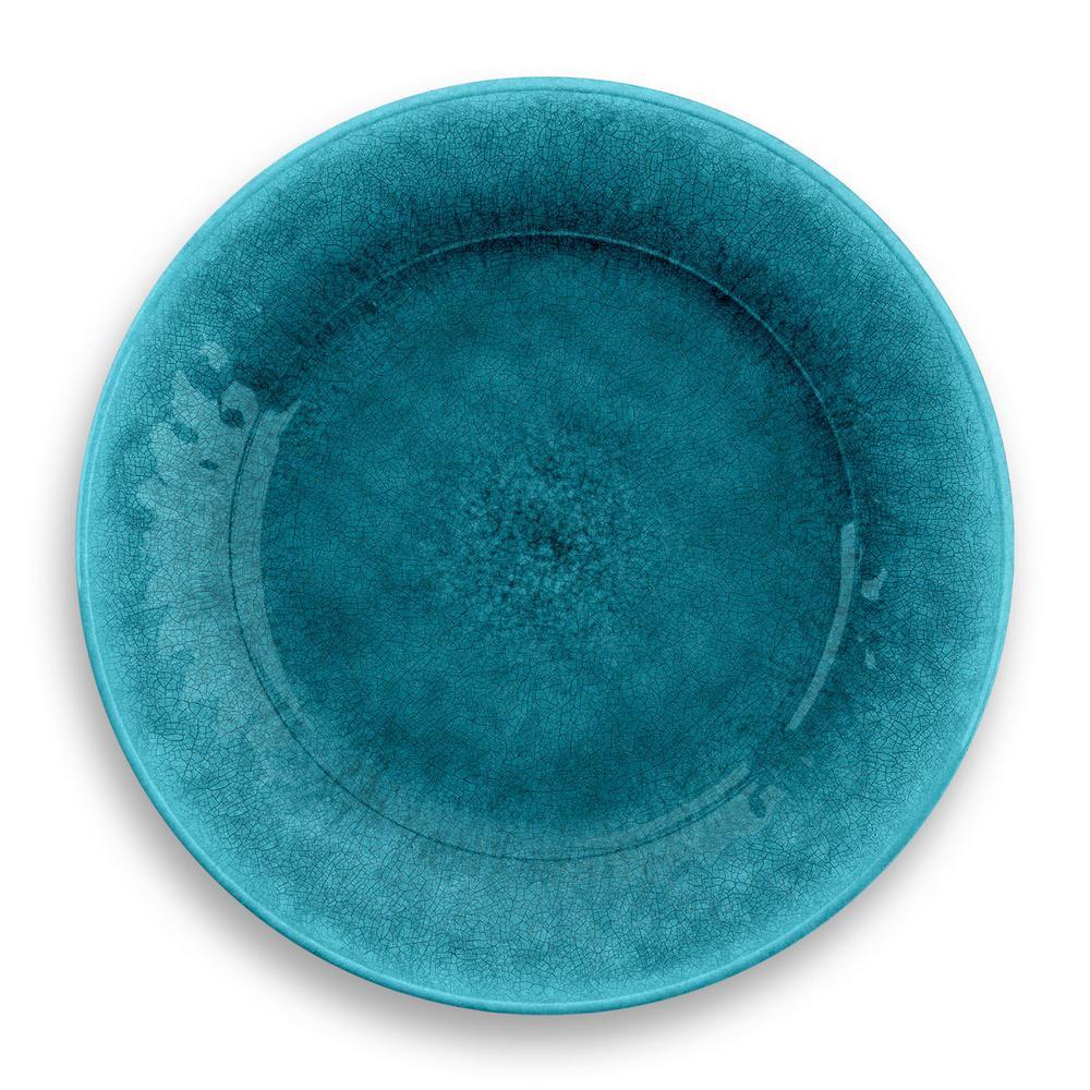Potters Reactive Glaze Dinner Plate Teal (Set of 6)