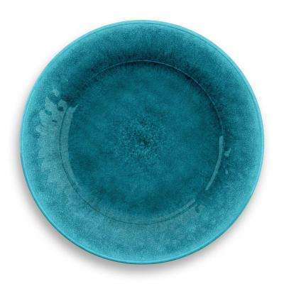 Potters Reactive Glaze Dinner Plate Teal (Set of 6)