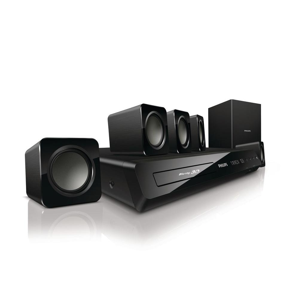 Philips 5.1-Channel Blu-ray Home Theater System-DISCONTINUED