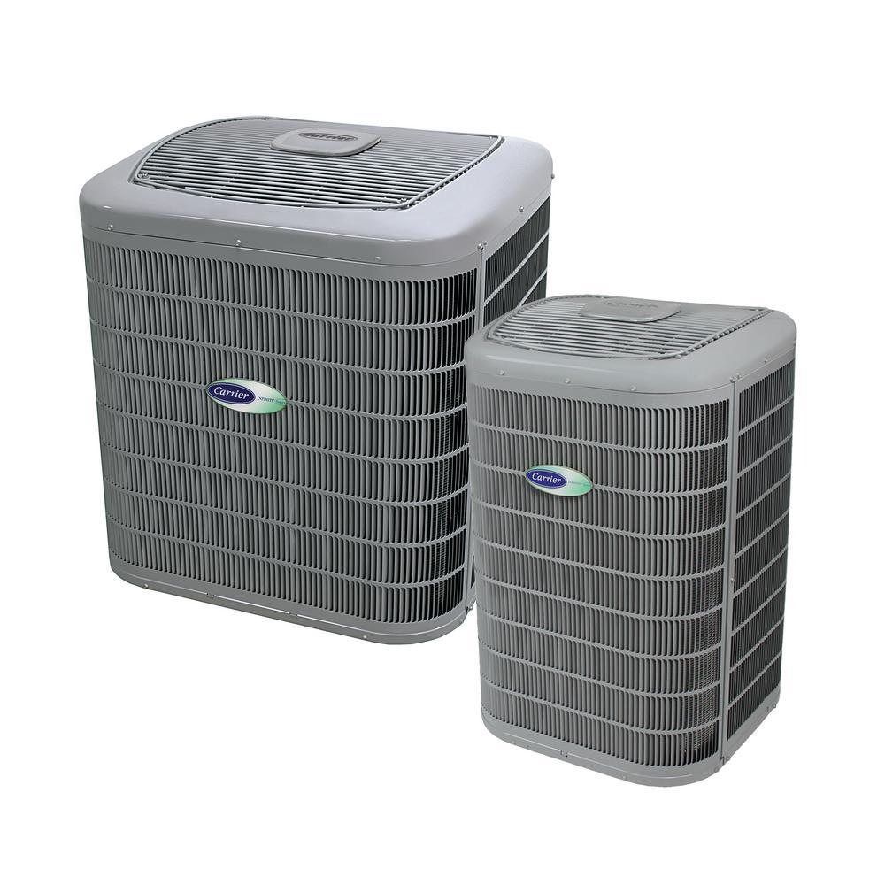 Installed Infinity Series Heat Pump