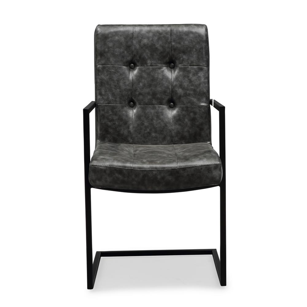 TOV Furniture Stanley Grey Arm Chair