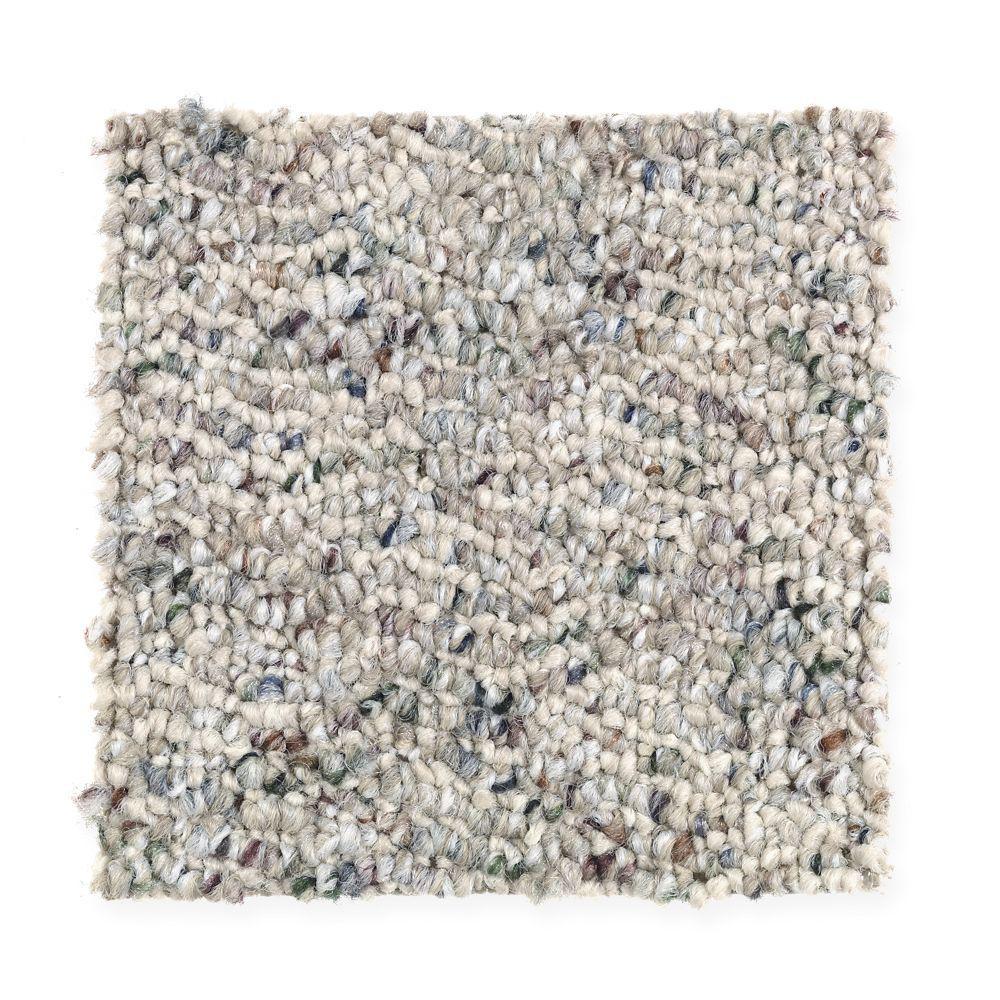 Trafficmaster Carpet Sample Kent Color Mineral Beige Berber 8 In X