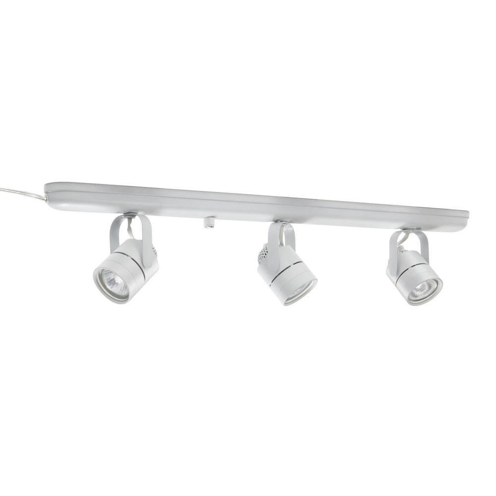 info for c2145 43e6b Lithonia Lighting Mesh Back 27 in. 3-Light White Track Lighting Kit