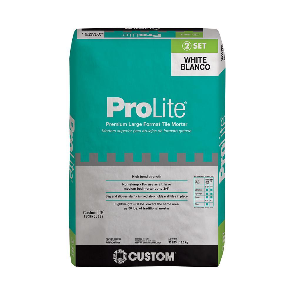 ProLite 30 lb. White Tile and Stone Mortar