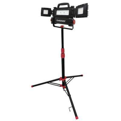3200-Lumen Multi-Directional LED Tripod Work Light