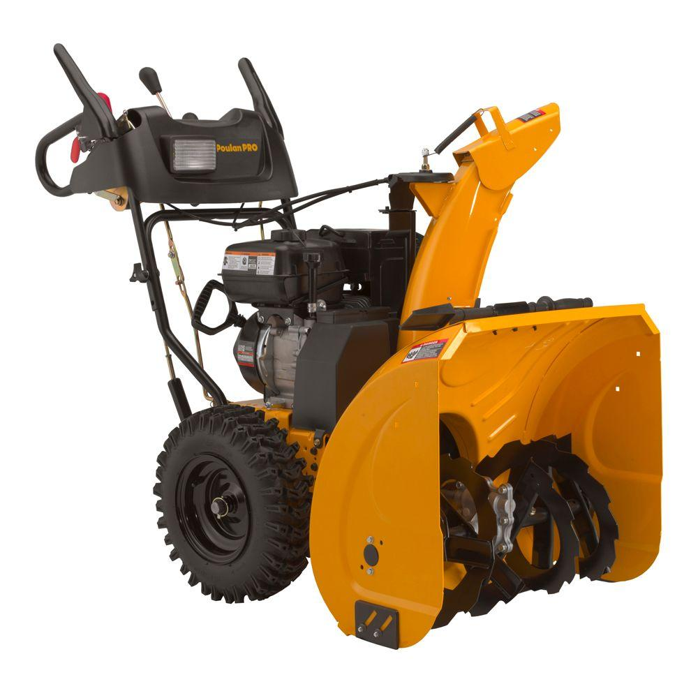 Poulan PRO 30 in. Two-Stage Electric Start Gas Snow Blower with Power Steering-DISCONTINUED