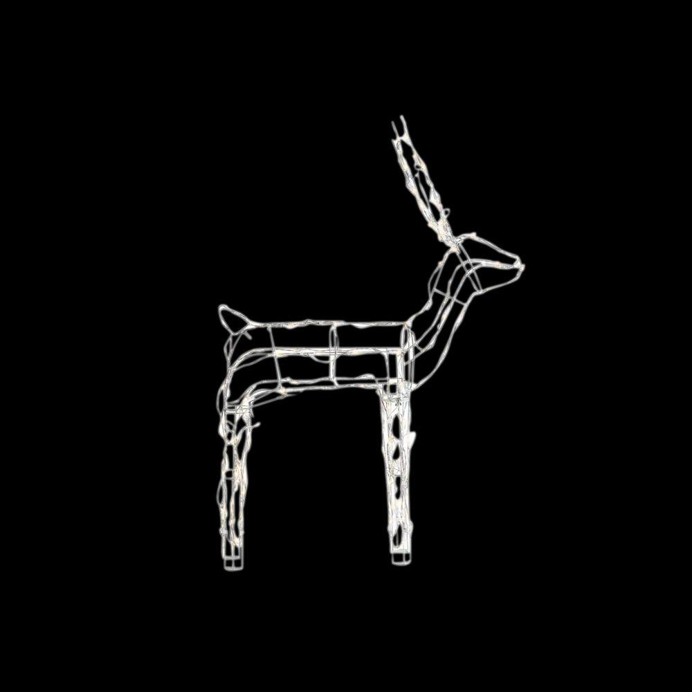 making wire frame christmas decorations wwwindiepediaorg 48quot wire reindeer led lighted metal frame indoor outdoor - Wire Frame Outdoor Christmas Decorations