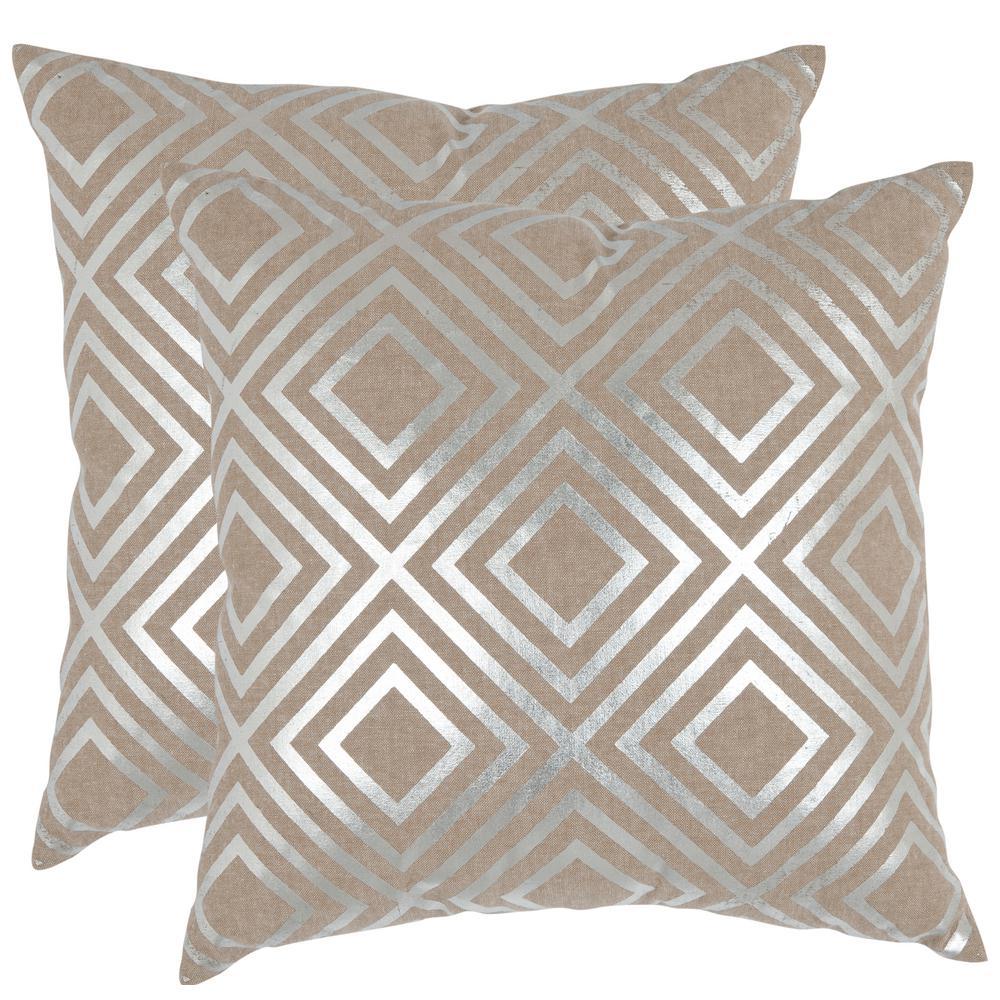 Chloe Metallics Pillow (2-Pack)