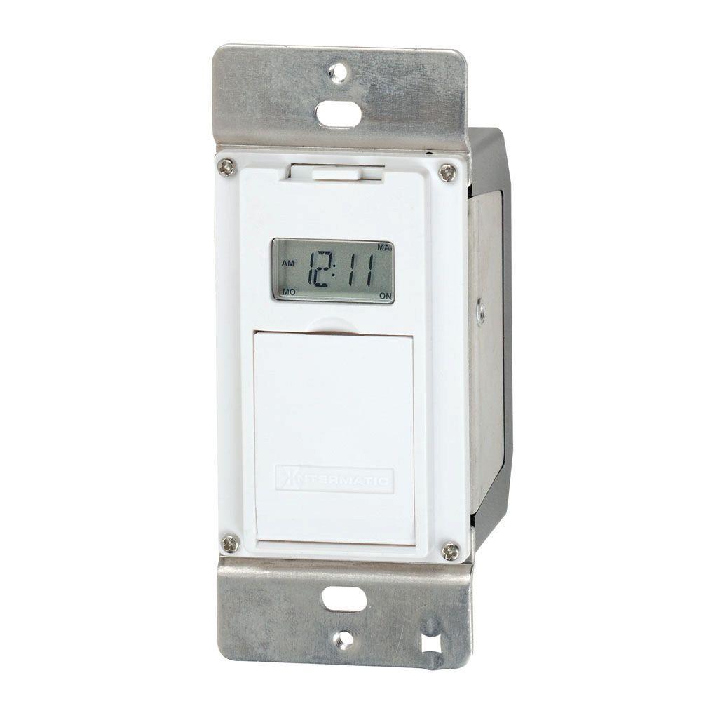 Intermatic 4-Amp In-Wall Astro Digital Timer