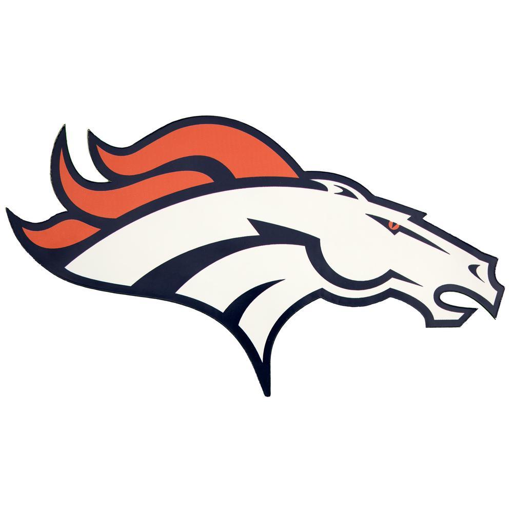 Official Denver Broncos American Football Large Logo T-Shirt
