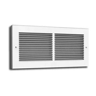 24 in. x 6 in. Baseboard Return Grille 3/4 in. Back