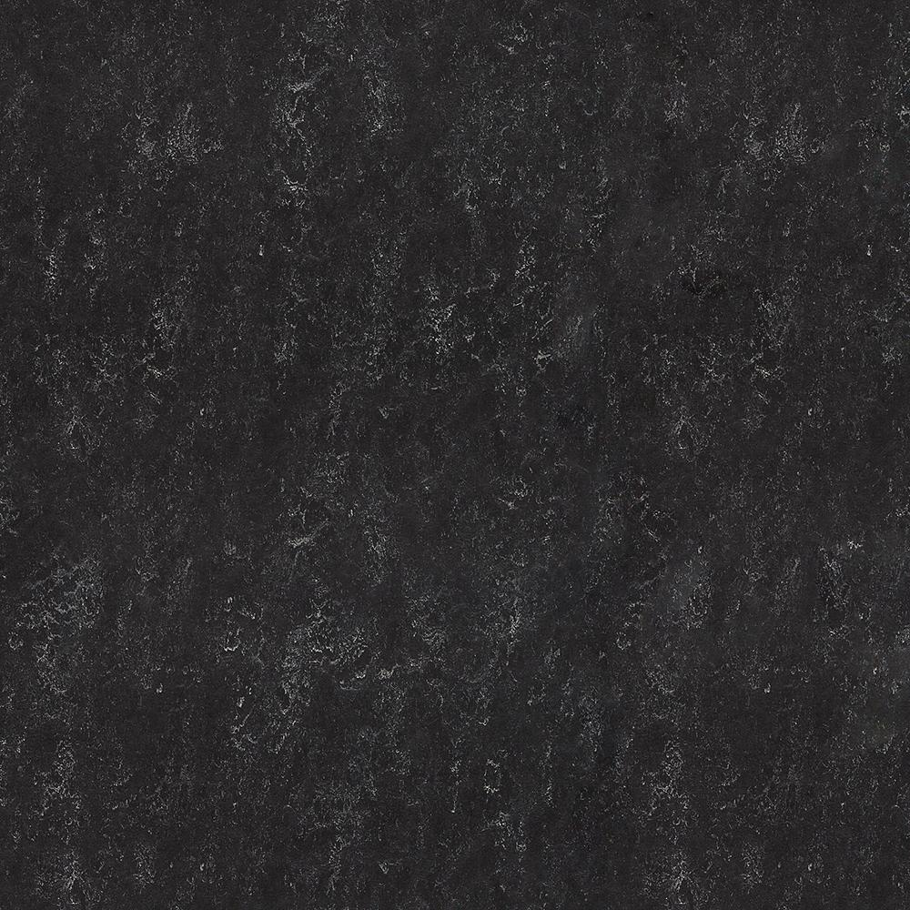 Marmoleum Black 9.8 mm Thick x 11.81 in. Wide x 35.43 in. Length Laminate Flooring (20.34 sq. ft. / case)