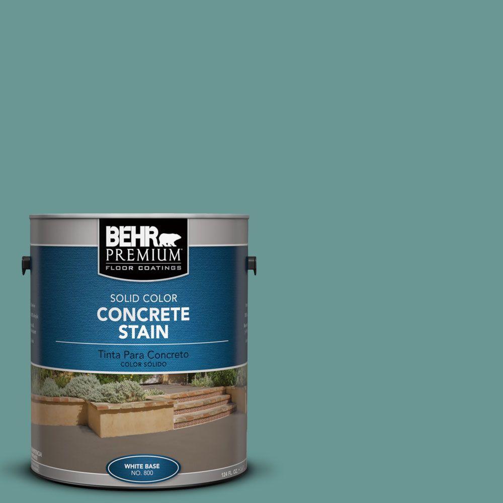1 gal. #PFC-48 Aqua Marble Solid Color Interior/Exterior Concrete Stain