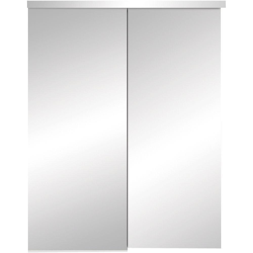 325 Series Steel White Frameless Mirror
