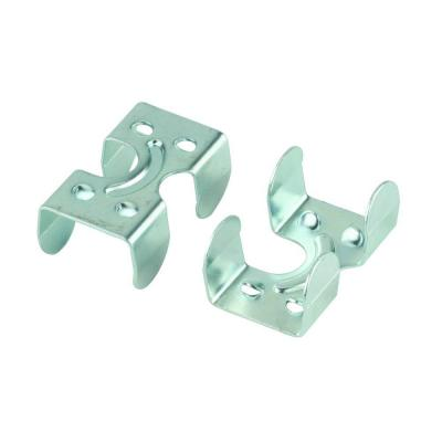 1/4 in. x 3/8 in. Zinc-Plated Rope Clamp (2-Pack)