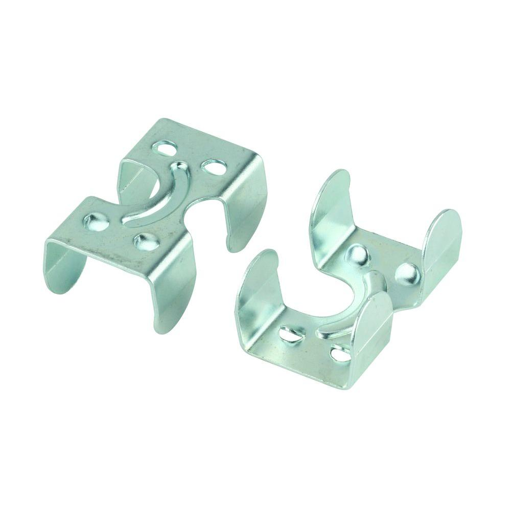 Everbilt 1/4 in. x 3/8 in. Zinc-Plated Rope Clamp (2-Pack)-43014 ...