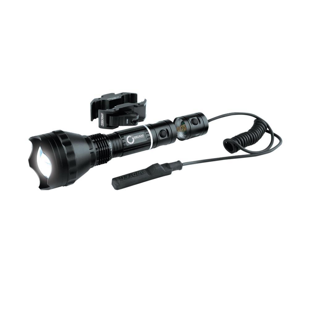 iProtec 400-Lumen Optimized Optics White Beam LED Flashlight with Universal Long Gun Mount... by iProtec