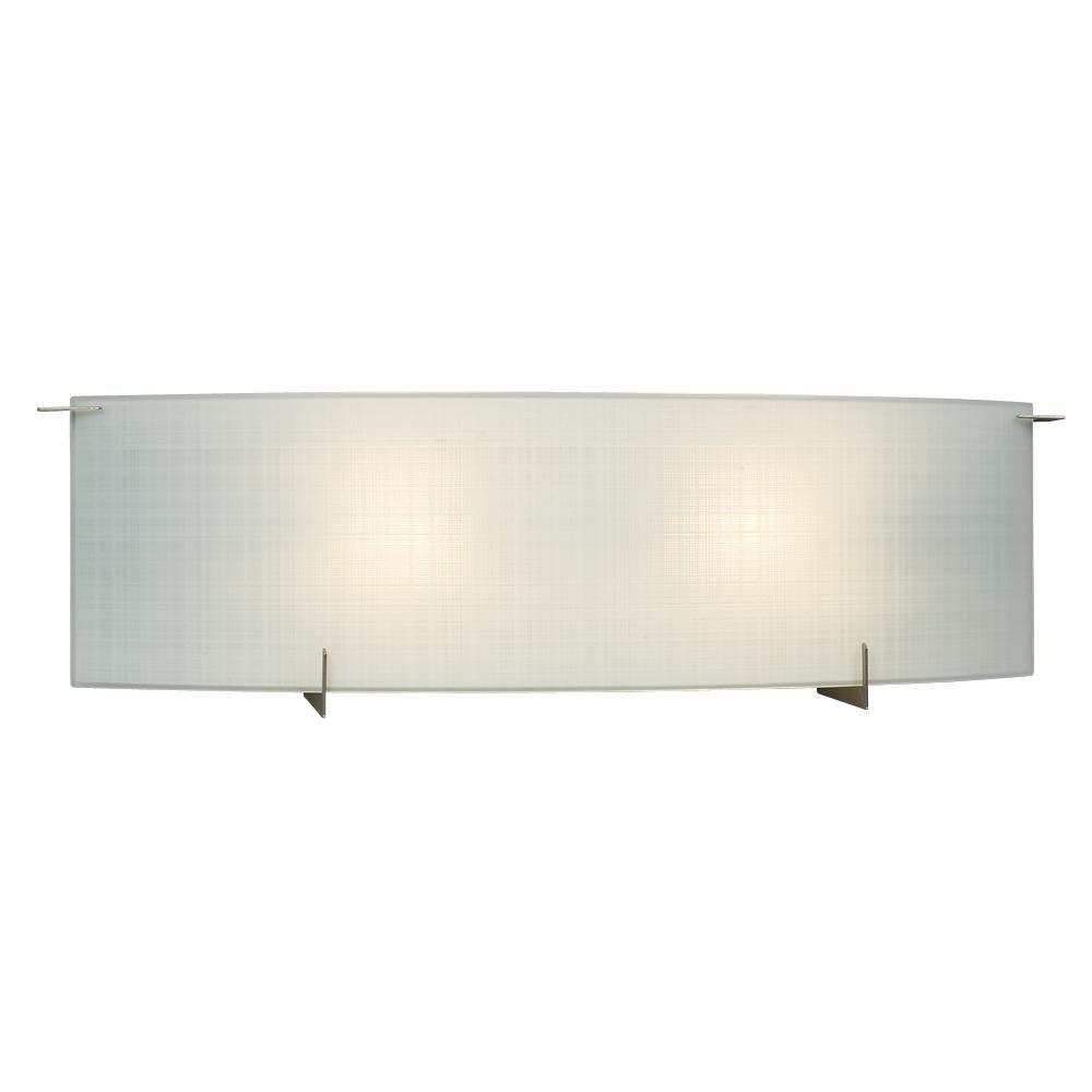 Bridgett 2-Light Pewter Bath Vanity Light