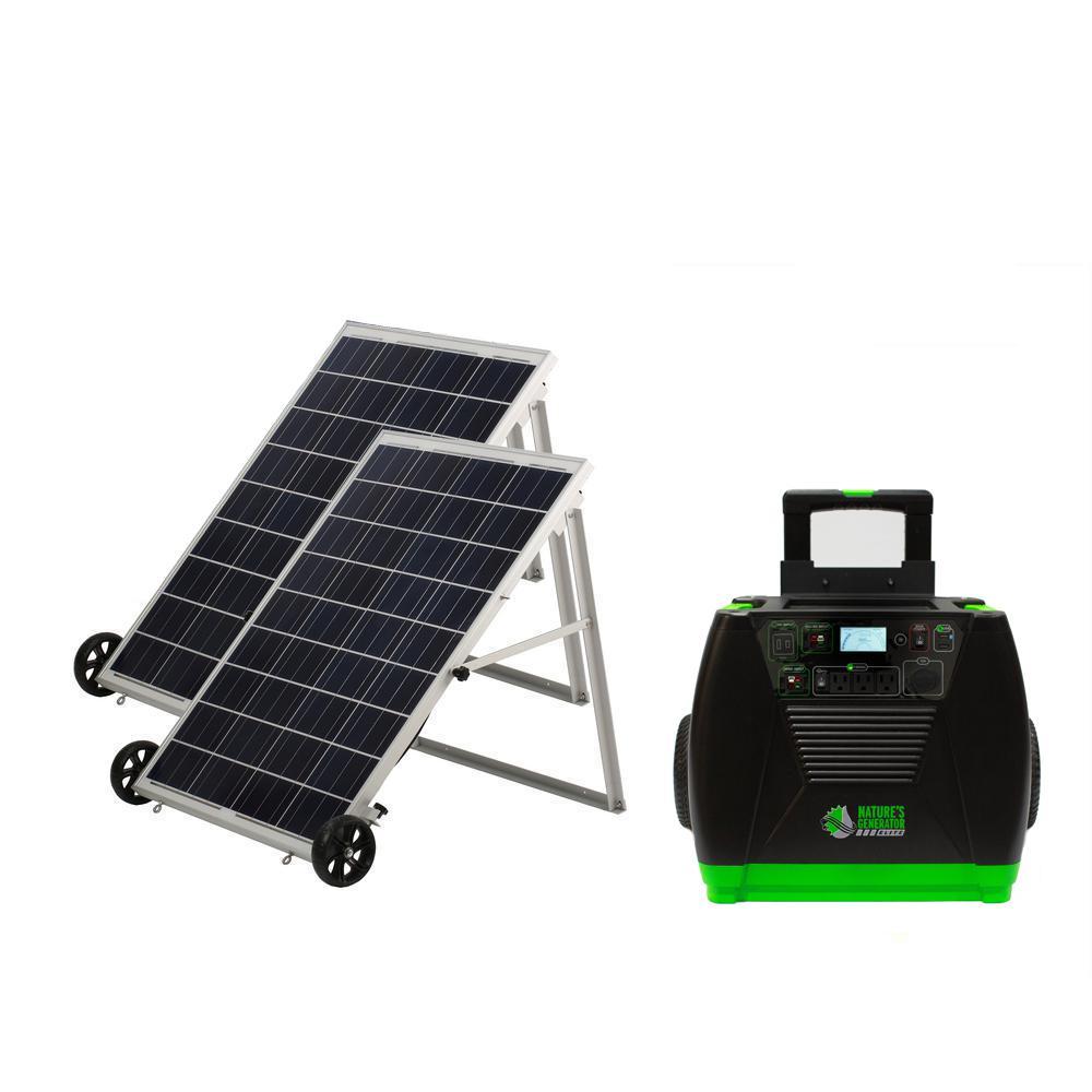 Solar Generators Generators The Home Depot