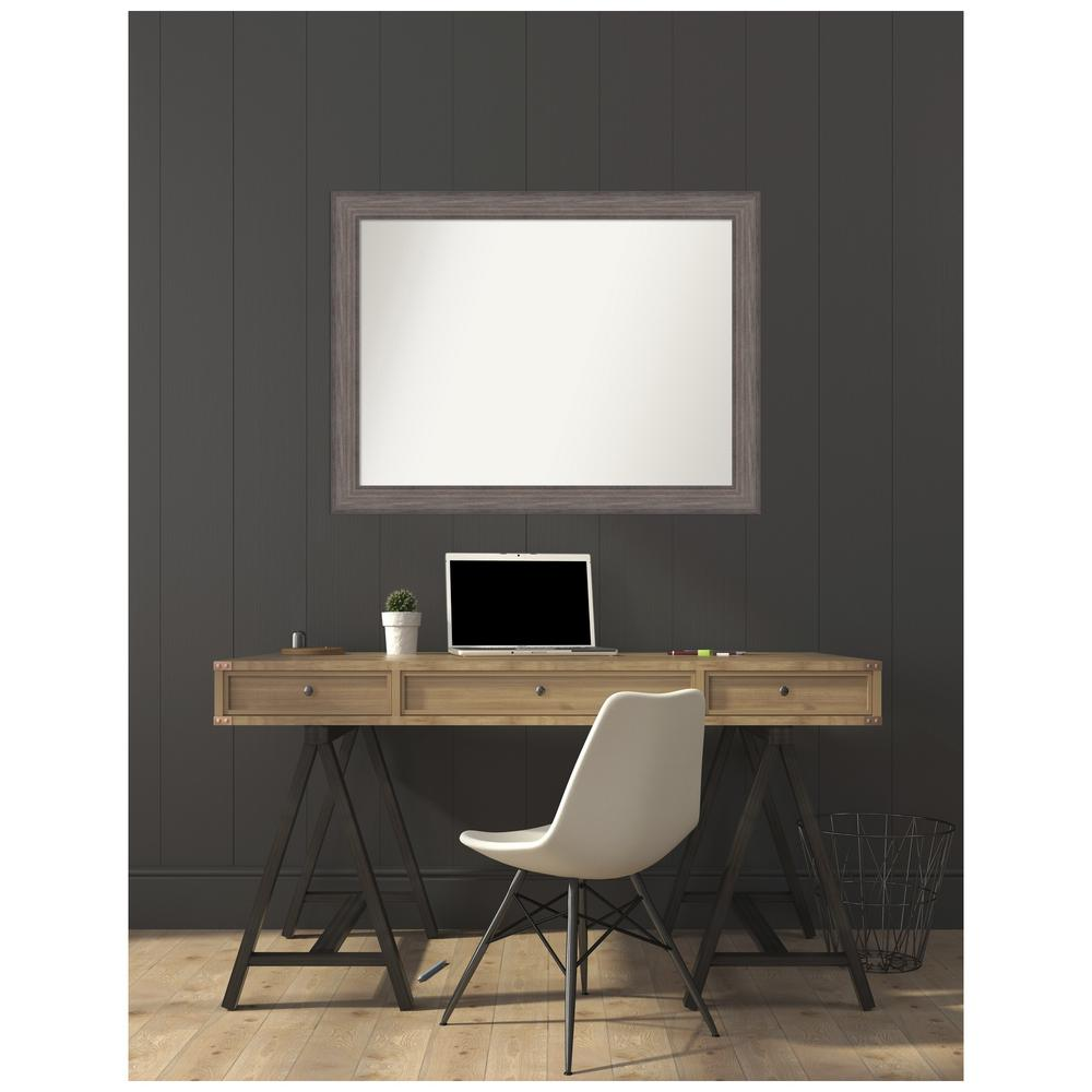 Amanti Art Custom Size 44.25 in. x 33.25 in. Country Barnwood Decorative Wall Mirror was $449.95 now $269.97 (40.0% off)