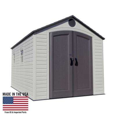 8 ft. x 15 ft. Storage Shed