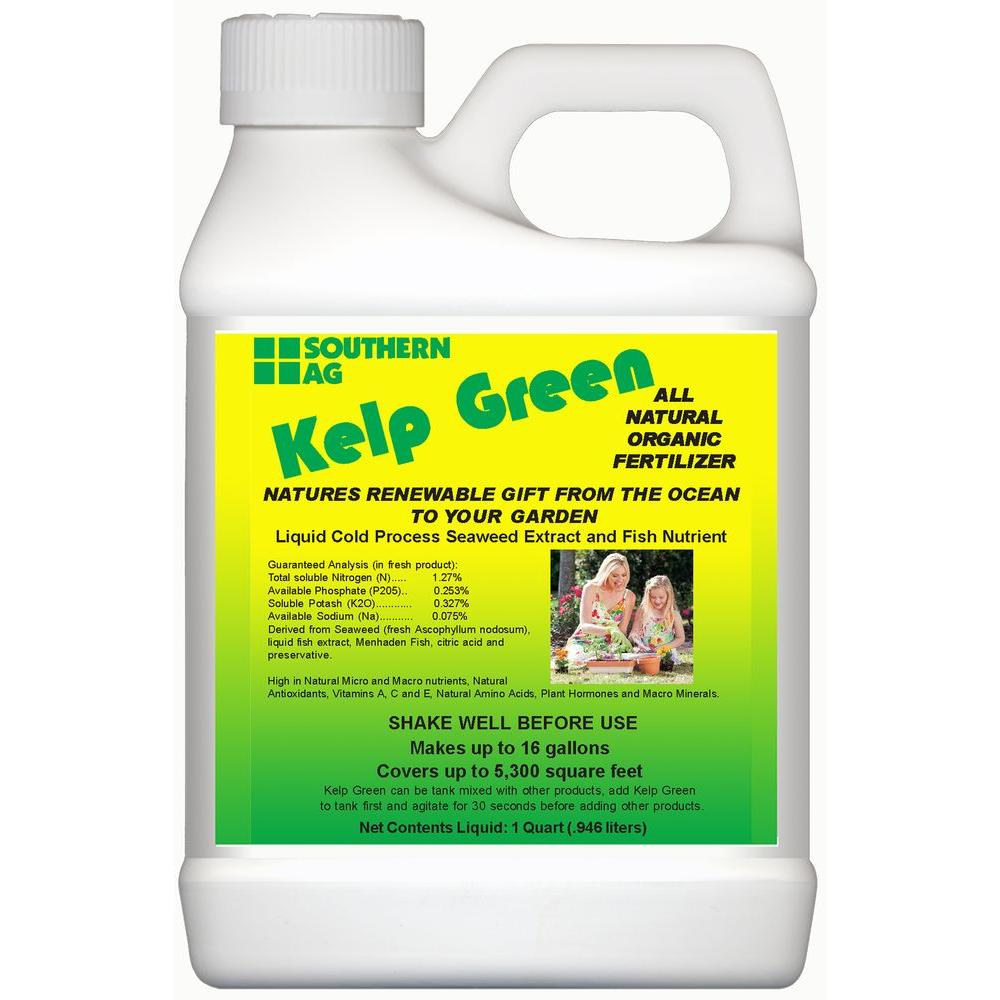 Southern Ag 32 Oz. Kelp Green Organic Liquid Fertilizer