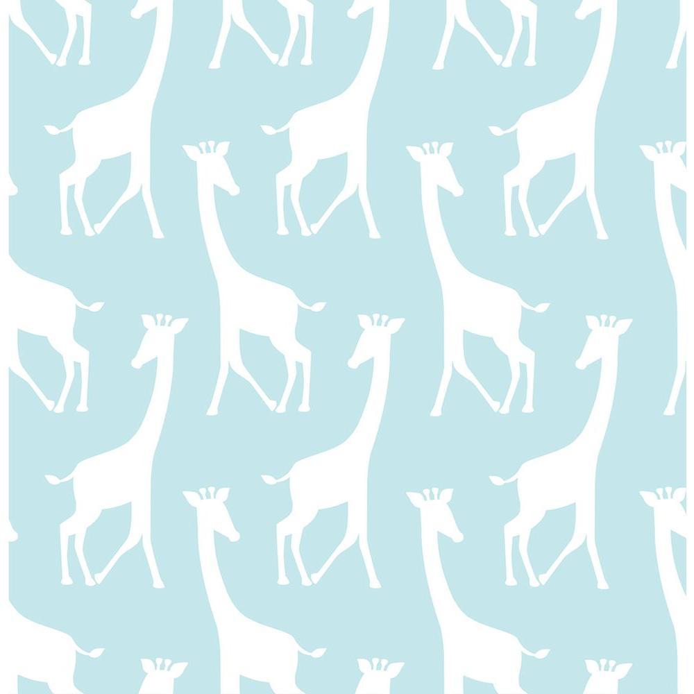 NuWallpaper Turquoise Savannah Soiree Wallpaper
