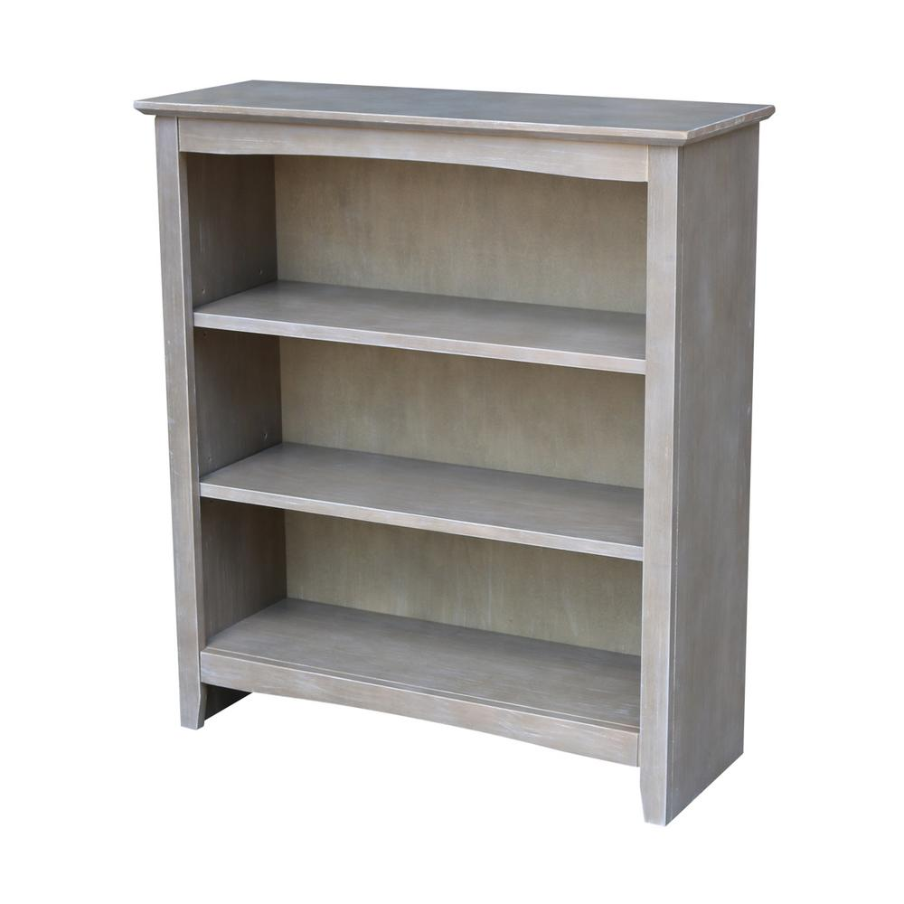 depot bookcases home polar collection left bookcase louis white philippe decorators p open modular
