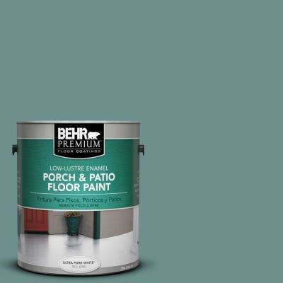 1 gal. #PPU12-03 Dragonfly Low-Lustre Porch and Patio Floor Paint