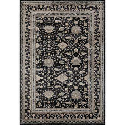 Dexter Judith Black 7 ft. x 9 ft. Area Rug