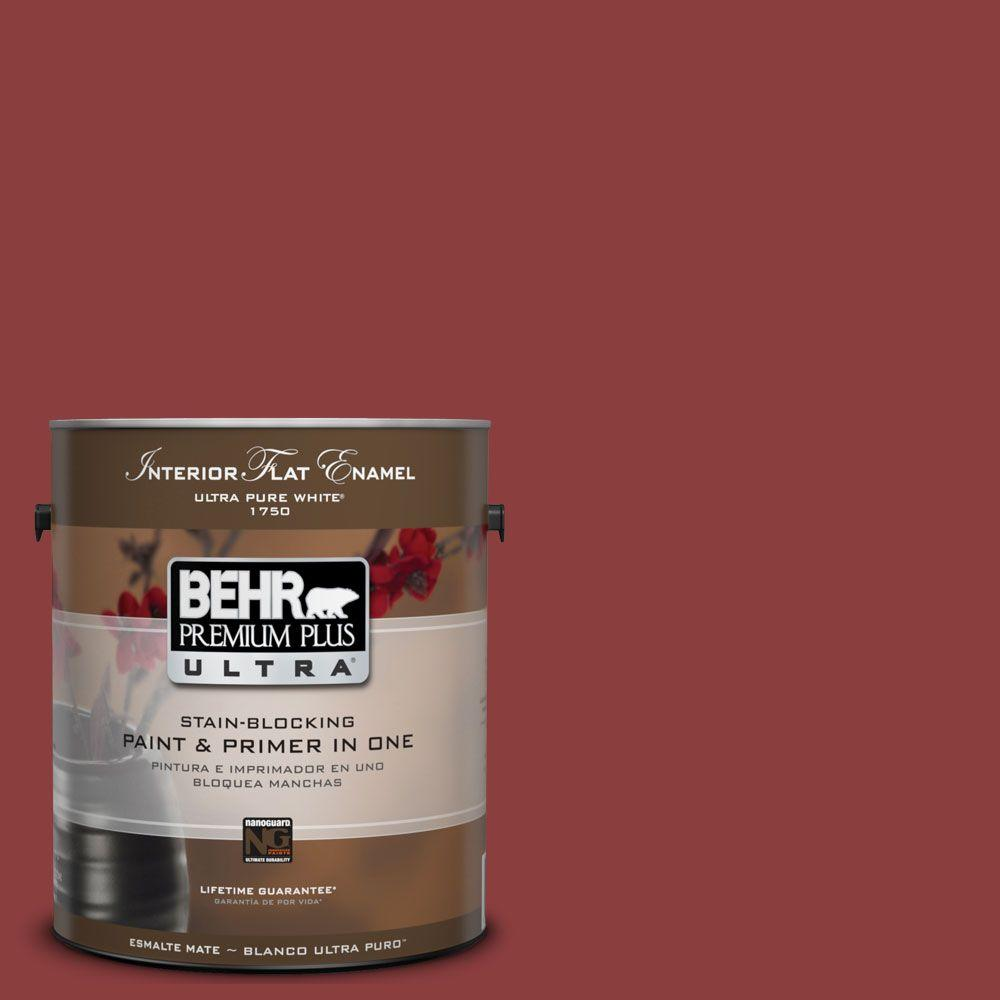 BEHR Premium Plus Ultra 1-gal. #UL110-3 Allure Interior Flat Enamel Paint-DISCONTINUED