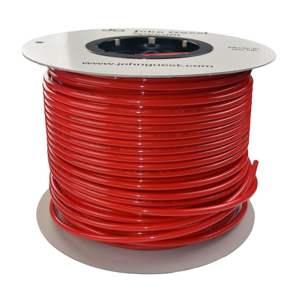 3/8 in. x 500 ft. Polyethylene Tubing Coil in Red