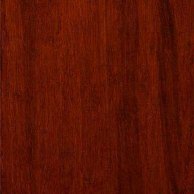 Take Home Sample - Equinox Click Lock Strand Woven Bamboo Flooring - 5 in. x 7 in.