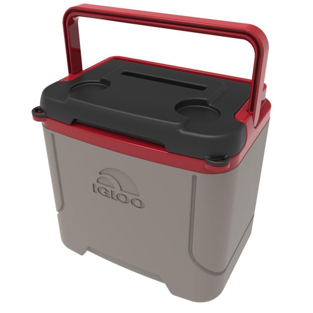 b59f9949acb IGLOO Profile 16 Qt. Sandstone Cooler-00032285 - The Home Depot