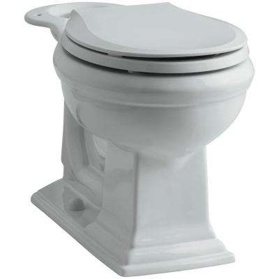Memoirs Comfort Height Round Front Toilet Bowl Only in Ice Grey