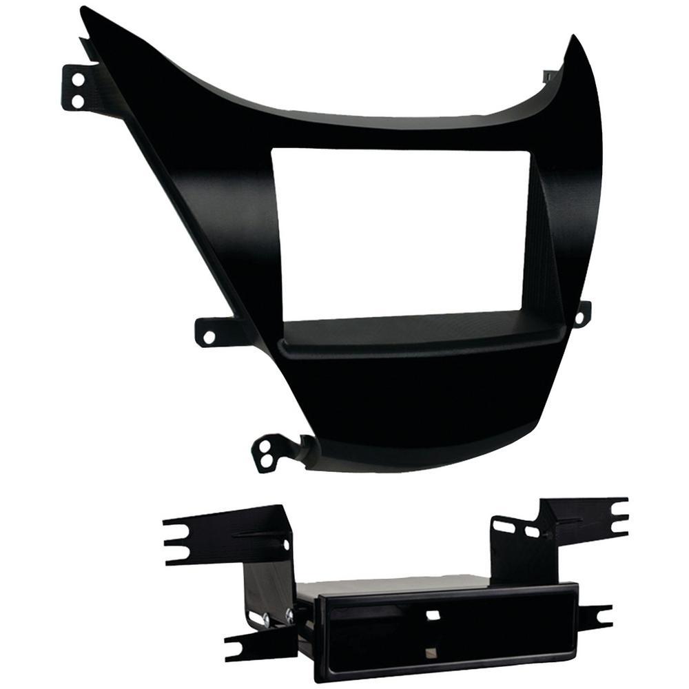 Hyundai Elantra 2011-2013 Double-DIN ISO-DIN with Pocket Installation Kit