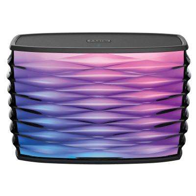 Splashproof Color Changing Rechargeable Bluetooth Stereo Speaker with Speakerphone