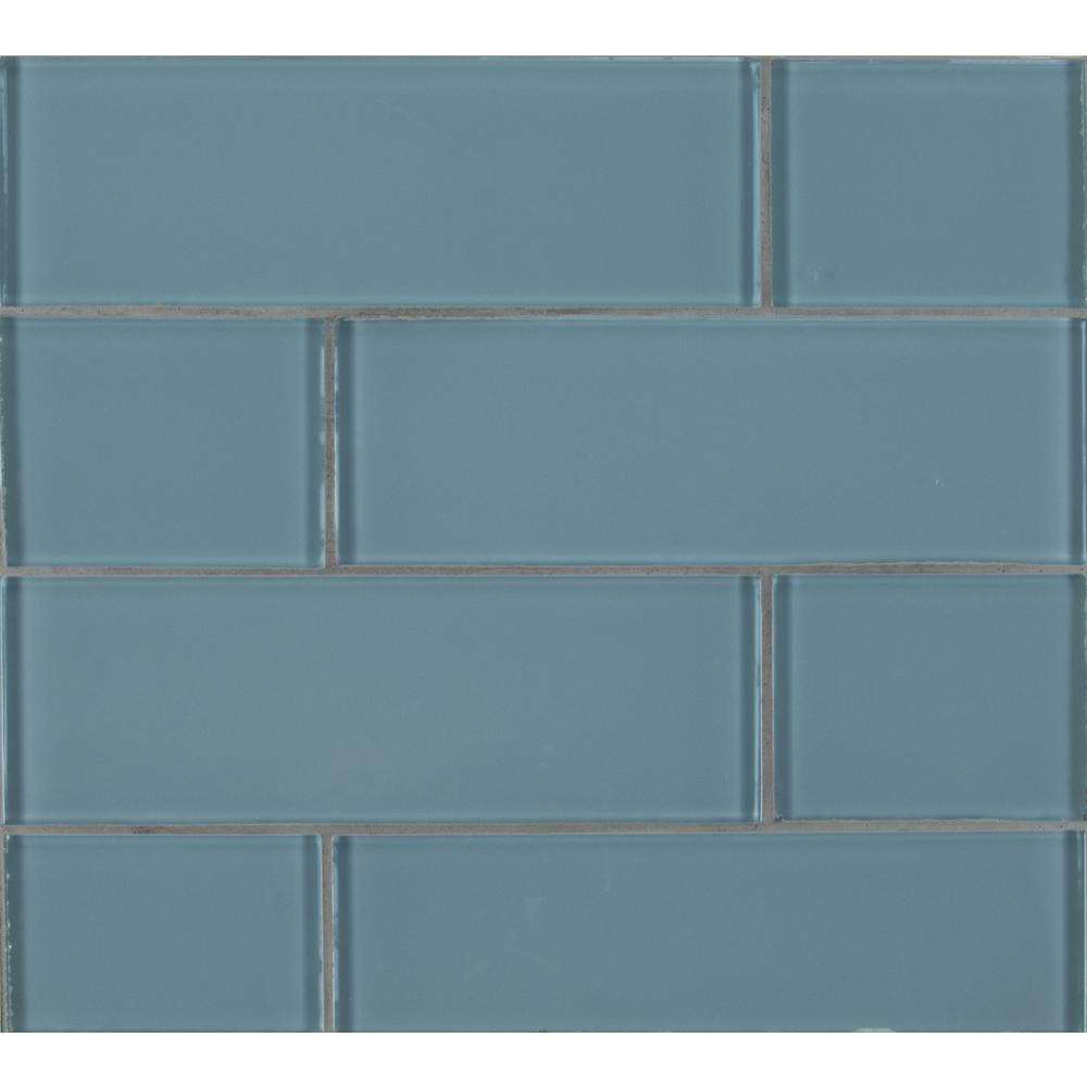 Msi Harbor Gray 3 In X 9 8mm Gl Wall Tile