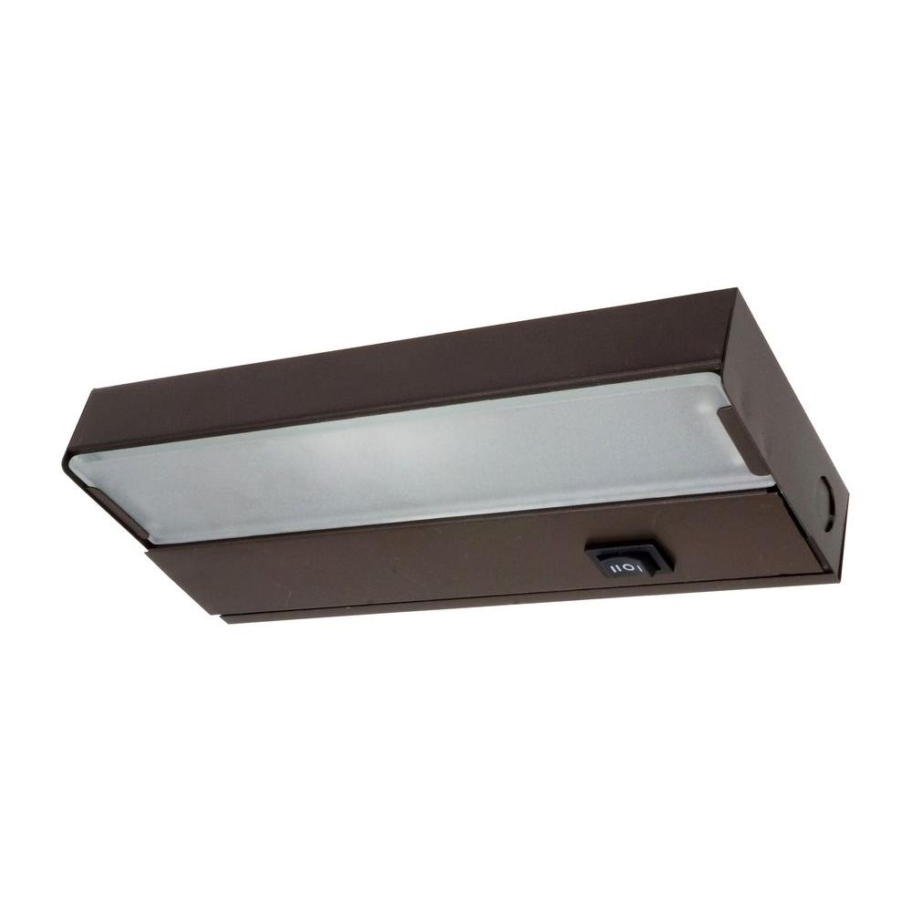 8 in. Xenon Bronze Under Cabinet Light Fixture-10350OB - The Home Depot